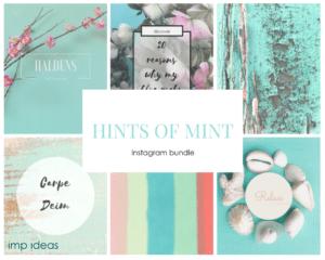 Hints of mint