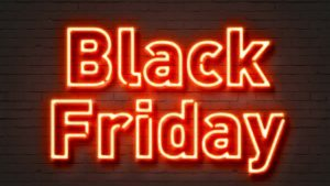 neon black friday sign best deals for sole traders