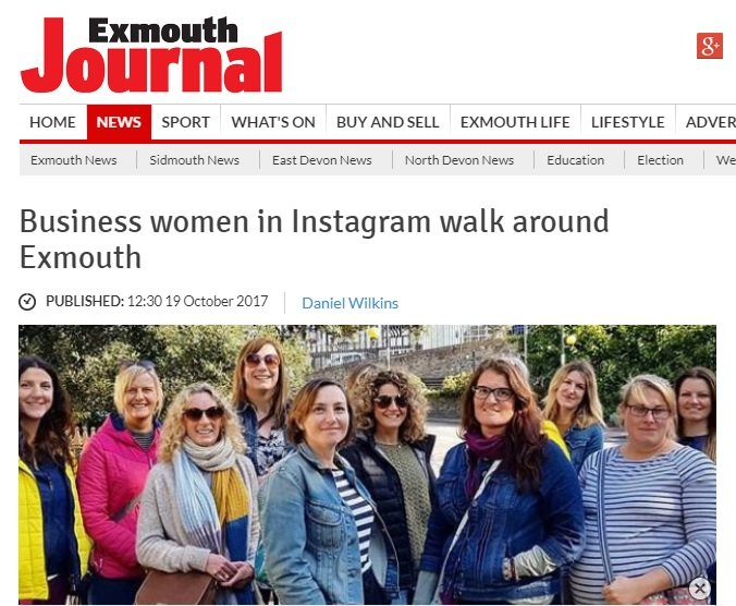 instagram walk exmouth